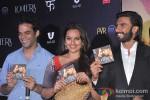 Vikramaditya Motwani, Sonakshi Sinha And Ranveer Singh At Lootera Music Launch