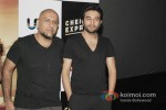 Vishal Dadlani And Shekhar Ravjiani Launch Chennai Express Trailer