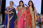 Waheeda Rehman and Juhi Chawla at Shaina NC's fashion show for CPAA