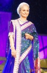 Waheeda Rehman at Shaina NC's fashion show for CPAA