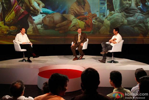 Aamir Khan with Bill Gates