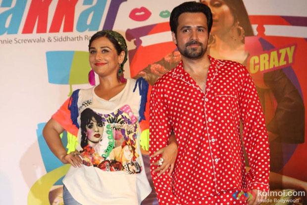 Vidya Balan and Emraan Hashmi at an event