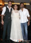 Dhanush, Sonam Kapoor And Abhay Deol at the success bash of 'Raanjhanaa' Pic 2