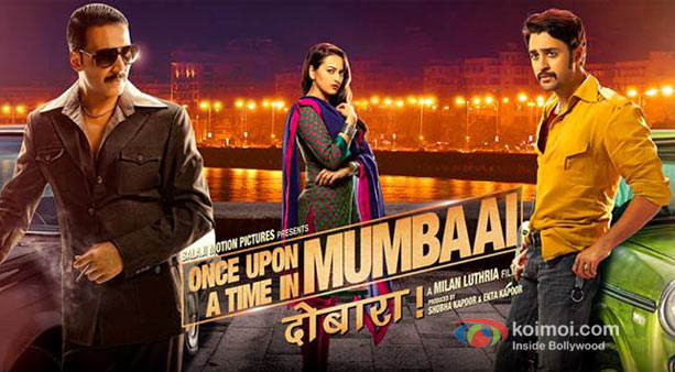 Akshay Kumar, Sonakshi Sinha And Imran Khan in Once Upon A Time In Mumbaai Dobaara!