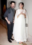 Anil Kapoor And Sonam Kapoor at the success bash of 'Raanjhanaa'