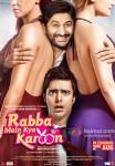 Arshad Warsi and Akash Sagar Chopra in Rabba Main Kya Karoon Movie Poster