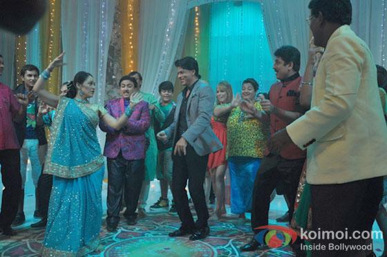 Disha Wakani, Shah Rukh Khan, Dilip Joshi, Sailesh Lodha And