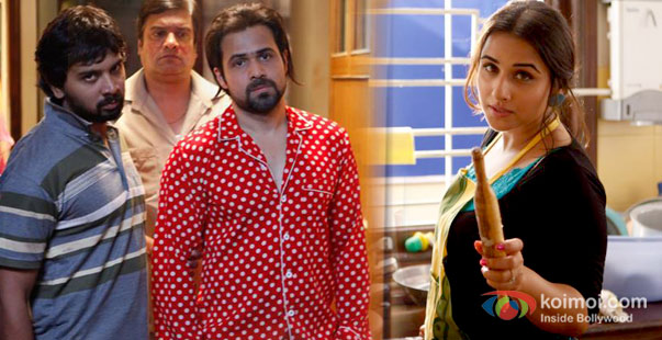 Emraan Hashmi And Vidya Balan in Ghanchakkar Movie Stills