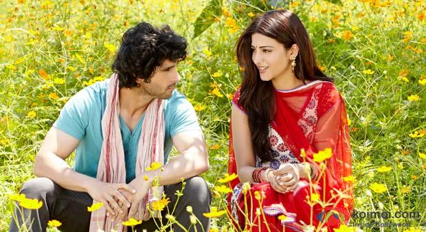 Girish Kumar And Shruti Haasan in Ramaiya Vastavaiya Movie Stills