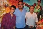 Himanshu Mehra, Abhinav Kashyap And Sanjeev Lamba At Launch Of Besharam Movie Trailer