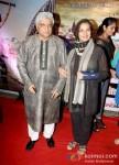 Javed Akhtar And Shabana Azmi At Issaq Movie Premiere