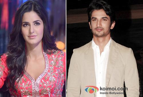 Katrina Kaif And Sushant Singh Rajput