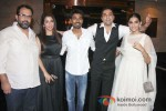 Krishika Lulla, Dhanush, Sonam Kapoor And Abhay Deol at the success bash of 'Raanjhanaa'