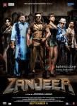 Mahie Gill, Sanjay Dutt, Ram Charan Teja, Priyanka Chopra, Prakash Raj and Atul Kulkarni in Zanjeer 2013 Movie Poster