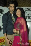 Manish Paul And Elli Avram At First Look launch of 'Mickey Virus' Pic 2