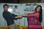 Manish Paul And Elli Avram At First Look launch of 'Mickey Virus' Pic 3
