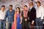 Manoj Bajpai, Ajay Devgn, Amrita Rao, Kareena Kapoor, Amitabh Bachchan And Arjun Rampal At Launch of Raghupati Raghav song from 'Satyagraha' Pic 2