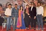 Manoj Bajpai, Ajay Devgn, Amrita Rao, Kareena Kapoor, Amitabh Bachchan And Arjun Rampal At Launch of Raghupati Raghav song from 'Satyagraha' Pic 1