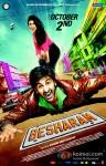 Pallavi Sharda and Ranbir Kapoor in Besharam Movie Poster