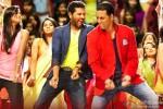 Prabhu Deva and Akshay Kumar in Boss Movie Stills