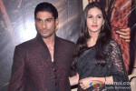 Prateik Babbar And Amyra Dastur At Issaq Movie Premiere Pic 2