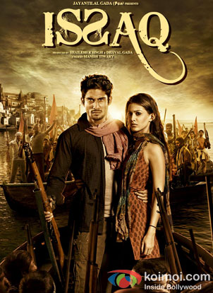 Prateik Babbar And Amyra Dastur in Issaq Movie Review (Prateik Babbar And Amyra Dastur in Issaq Movie Poster)