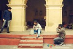 Ranveer Singh And Vikramaditya Motwane On The Sets Of 'Lootera' Pic 3