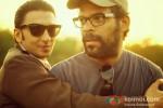 Ranveer Singh And Vikramaditya Motwane On The Sets Of 'Lootera' Pic 1