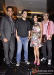 Ravi Kishan, Tusshar Kapoor, Vishakha Singh And Shashant A Shah at the success bash of 'Raanjhanaa'