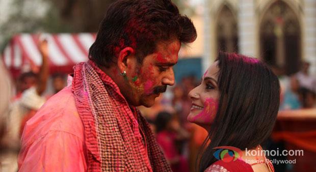 Ravi Kishan in Issaq Movie Stillsv