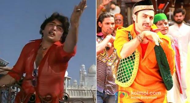 Rishi Kapoor And Imran Khan in Tayyab Ali Song