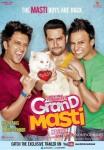 Riteish Deshmukh, Aftab Shivdasani and Vivek Oberoi in Grand Masti Movie Poster