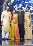 Rohit Shetty, Shreya Ghoshal, Shah Rukh Khan And Deepika Padukone Promote Chennai Express On Indian Idol Junior Pic 3