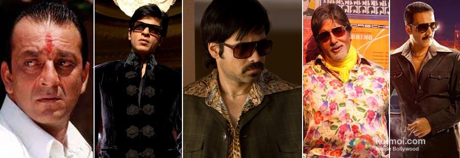 Sanjay Dutt, Shah Rukh Khan, Emraan Hashmi, Amitabh Bachchan Akshay Kukmar