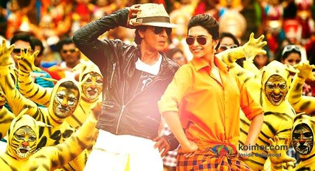 Shah Rukh Khan And Deepika Padukone In Chennai Express Movie Stills