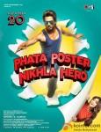 Shahid Kapoor and Ileana D'Cruz in Phata Poster Nikhla Hero Movie Poster 1