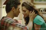 Shiv Pandit and Aditi Rao Hydari in Boss Movie Stills