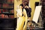 Sonakshi Sinha And Vikramaditya Motwane On The Sets Of 'Lootera'