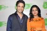 Tusshar Kapoor And Vishakha Singh Promote Bajatey Raho At R City Mall Ghatkopar Pic 1