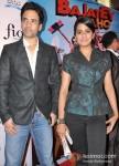 Tusshar Kapoor And Vishakha Singh Promote Bajatey Raho In Delhi