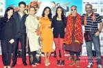 Tusshar Kapoor, Dolly Ahluwalia, Vishakha Singh, Krishika Lulla, Vinay Pathak And Shashant A Shah Promote Bajatey Raho At R City Mall Ghatkopar