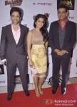 Tusshar Kapoor, Vishakha Singh And Ravi Kishan At Bajatey Raho Movie Premiere Pic 1