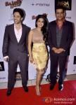 Tusshar Kapoor, Vishakha Singh And Ravi Kishan At Bajatey Raho Movie Premiere Pic 2