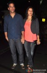 Vikramaditya Motwane And Ishika Motwane Attend Lootera's Success Party