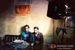 Vikramaditya Motwane And Ranveer Singh On The Sets Of 'Lootera' Pic 1