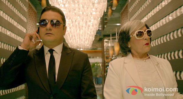 Vinay Pathak And Dolly Ahluwalia in Bajatey Raho Movie Review