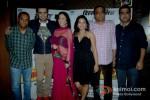 Vivek Rangachari, Manish Paul, Elli Avram, Pooja Gupta, Arun Rangachari and Saurabh Varma At First Look launch of 'Mickey Virus'