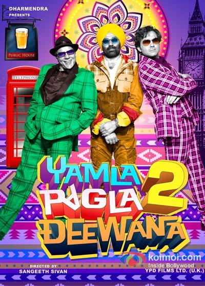 Yamla Pagla Deewana 2 Movie Poster