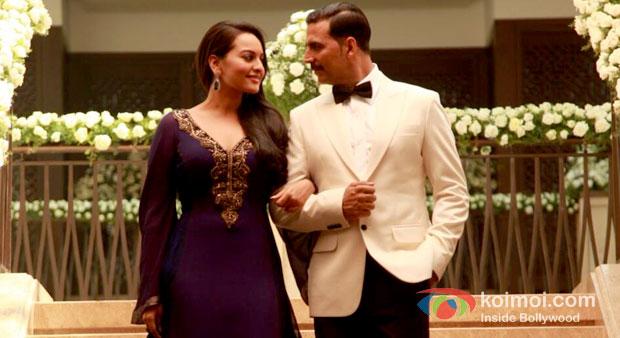 Akshay Kumar And Sonakshi Sinha in Once Upon A Time In Mumbaai Dobaara! Movie Review (Akshay Kumar And Sonakshi Sinha in Once Upon A Time In Mumbaai Dobaara! Movie Stills)