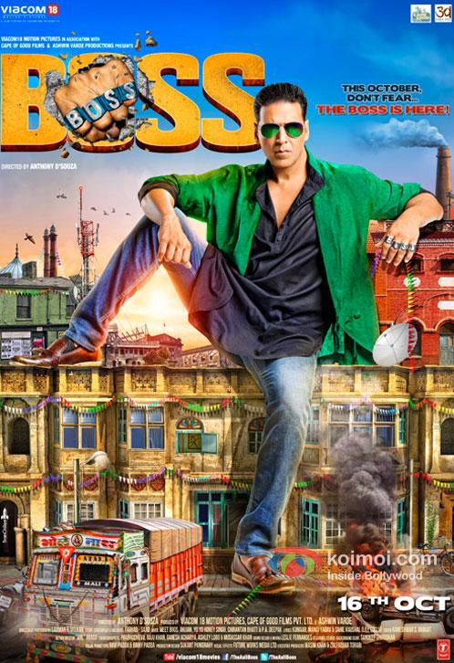 Akshay Kumar in Boss Movie Poster
